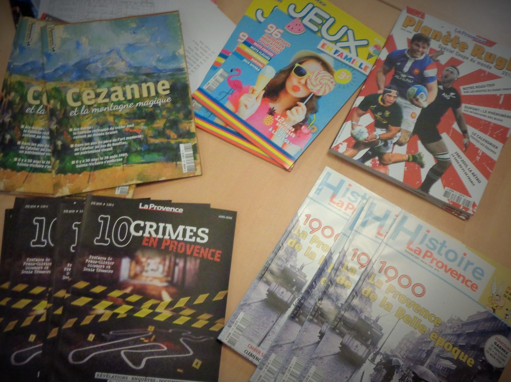 Exemples de magazines thématiques
