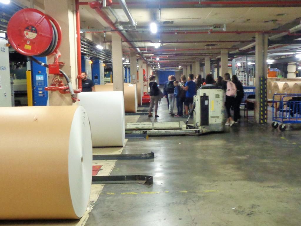 La salle de fabrication