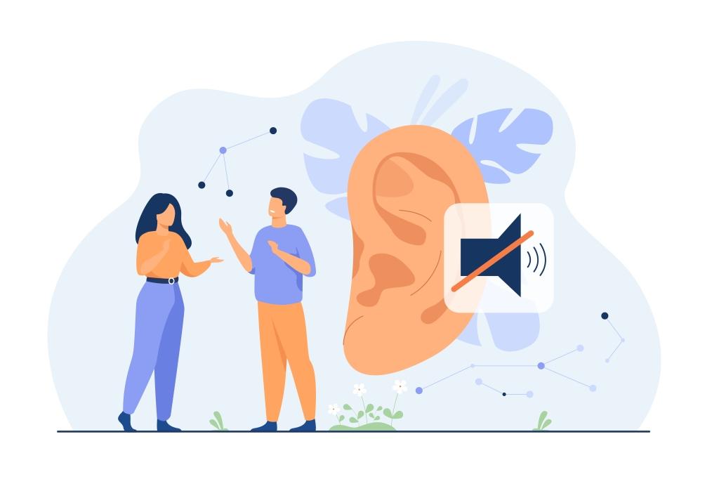 Couple de personnes sourdes